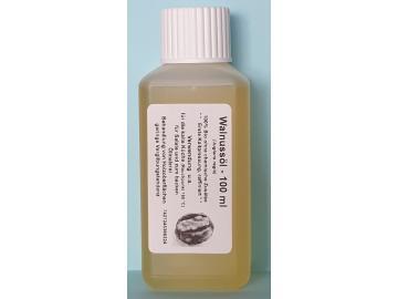 100 ml Walnussöl, raffiniert (Juglans regia) 100% Bio,1te Kaltpressung