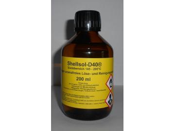 200 ml Shellsol-D40®, Kaltlreiniger, aromafreies Lösungsmittel, Iso Aliphatan Siedebereich 145 - 205°C